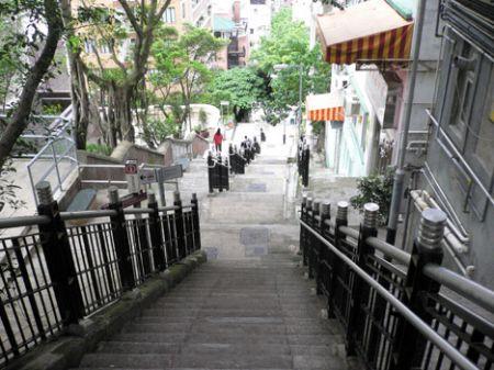 ladder street hong kong hong kong